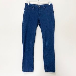 1822 Dark Wash High Rise Skinny Jeans